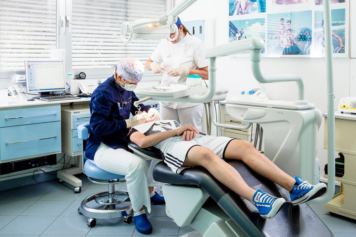 apparecchio dentale bambino dentista